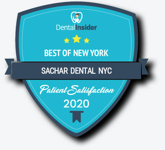 Best Dentist NYC picture of award