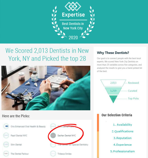 Top rated local dentist New York