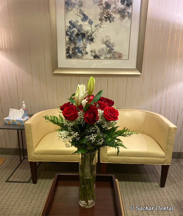 Best Dentist NYC - Sachar Dental NYC waiting room